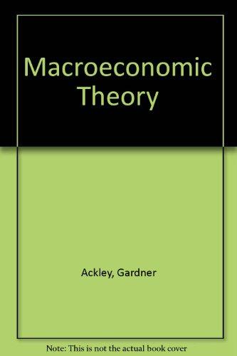 9780029722107: Macroeconomic Theory