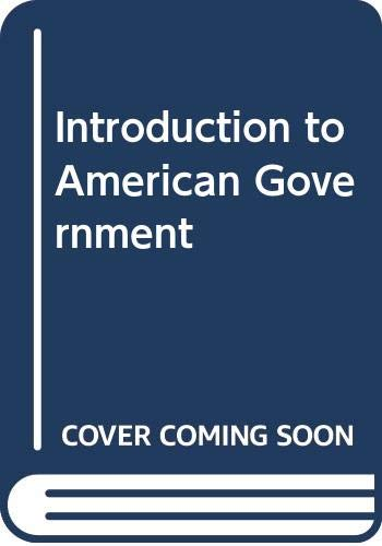 9780029726402: Introduction to American Government