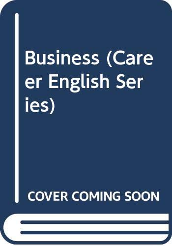 9780029737705: Business (Career English Series)