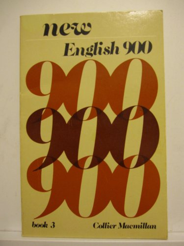 9780029744000: New English 900 Book 3 (Collier Macmillan English program) (Bk. 3)