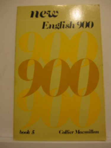 9780029744208: New English 900: Bk. 5 (Collier Macmillan English program)