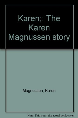 Karen: The Karen Magnussen Story: Jeff Cross and