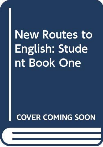 9780029757802: New Routes to English: Student Book One