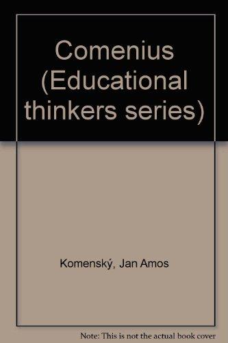 9780029759219: Comenius (Educational thinkers series)