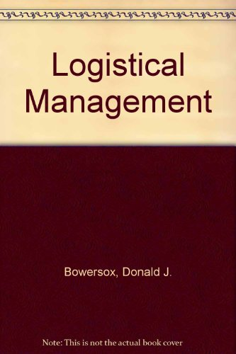 9780029785300: Logistical Management