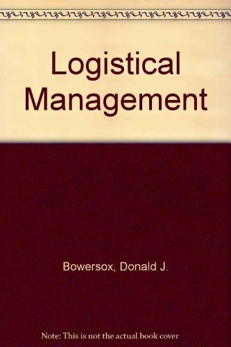 9780029785300: Logistical Management