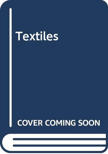 Textiles (9780029787908) by Norma R. Hollen; Jane Saddler; et al