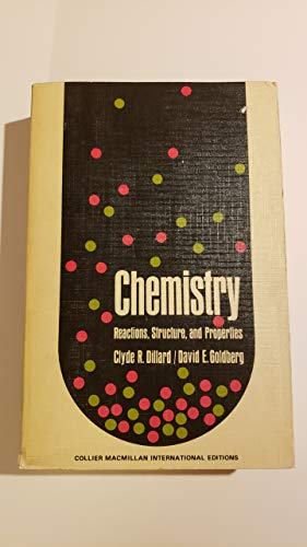9780029789001: Chemistry: Reactions, Structures, Properties