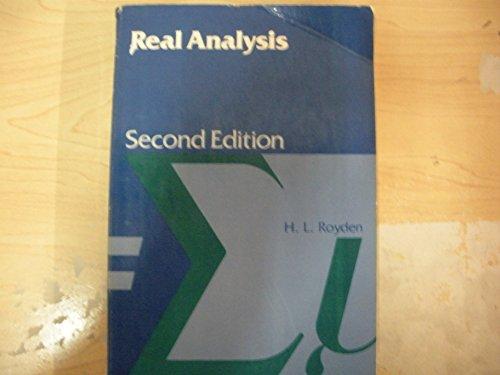 9780029794104: Real Analysis