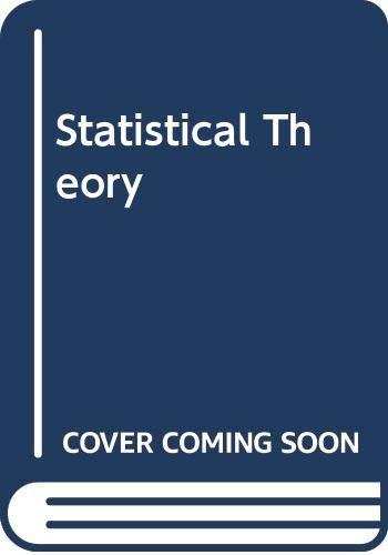 9780029794203: Statistical Theory