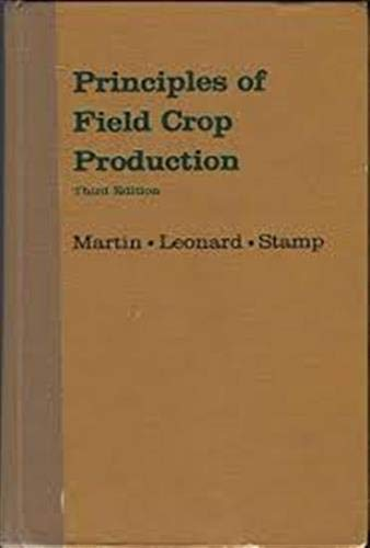 9780029795002: Principles of Field Crop Production
