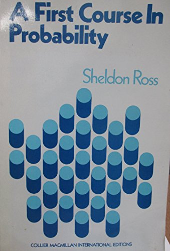 9780029796207: First Course in Probability