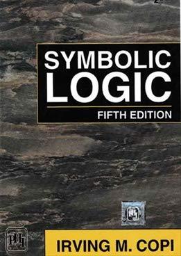 9780029796801: Symbolic Logic
