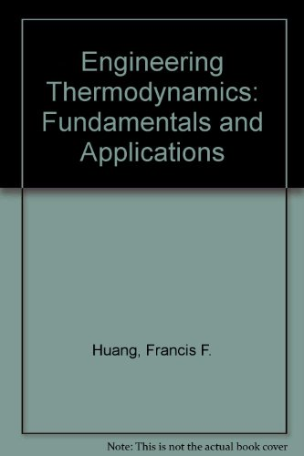 9780029797600: Engineering Thermodynamics: Fundamentals and Applications