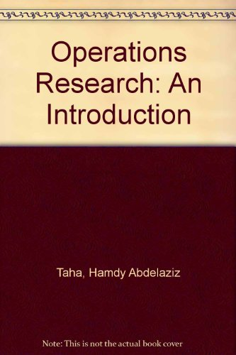 9780029798003: Operations Research: An Introduction