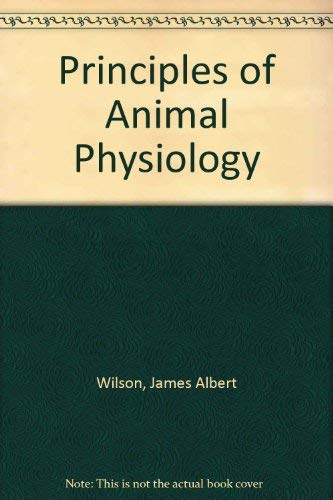 9780029799703: Principles of Animal Physiology