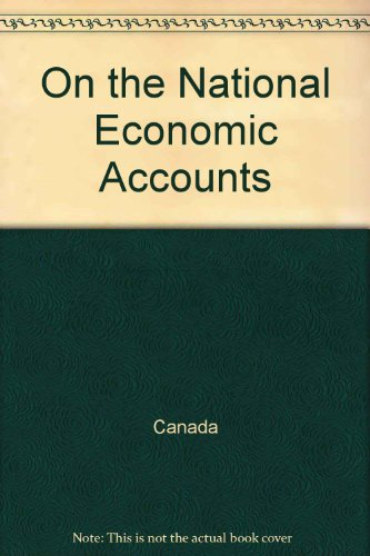 9780029901908: On the National Economic Accounts (Collier MacMillan English Readers)