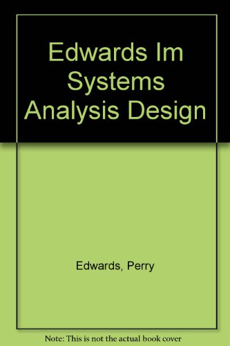 9780030001437: Systems Analysis, Design, and Development With Structured Concepts
