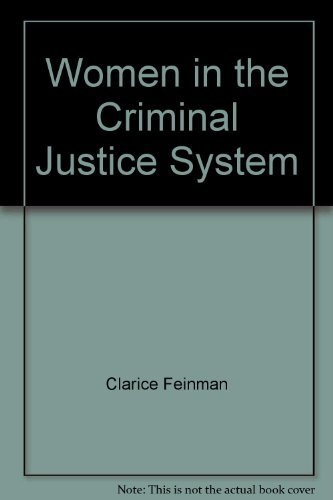 9780030001635: Women in the criminal justice system