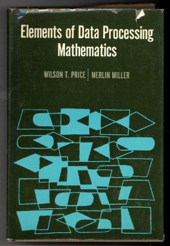 9780030001789: Elements of Data Processing Mathematics