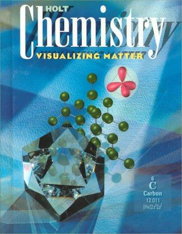 9780030001949: Holt Chemistry: Visualizing Matter