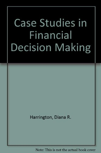 9780030003233: Case Studies in Financial Decision Making (The Dryden Press series in finance)