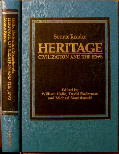 9780030004797: Heritage: Source Reader: Civilization and the Jews