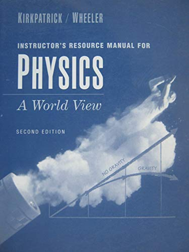 9780030006036: Physics A World View IRM