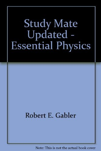 9780030006586: Study Mate Updated - Essential Physics