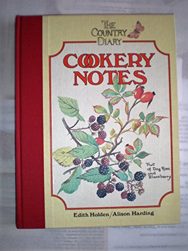 9780030007484: The Country Diary Cookery Notes