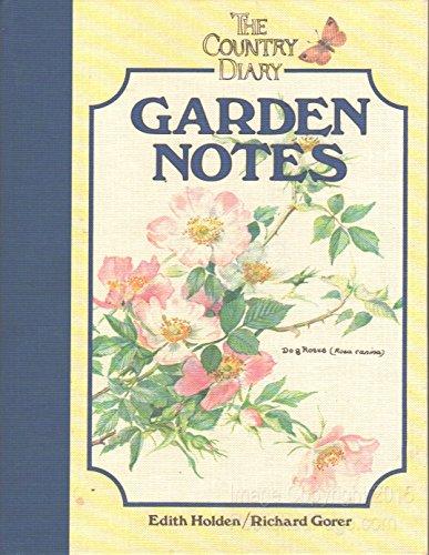 9780030007491: Country Diary Garden Notes