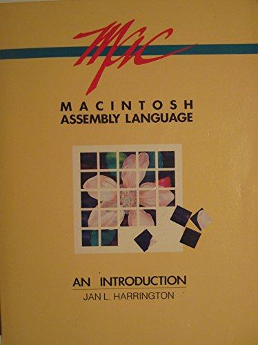 9780030008337: Macintosh Assembly Language: An Introduction (CBS Computer Books)