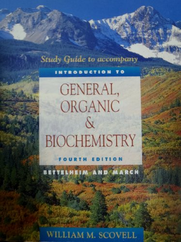 9780030010729: Introduction to General, Organic and Biochemistry