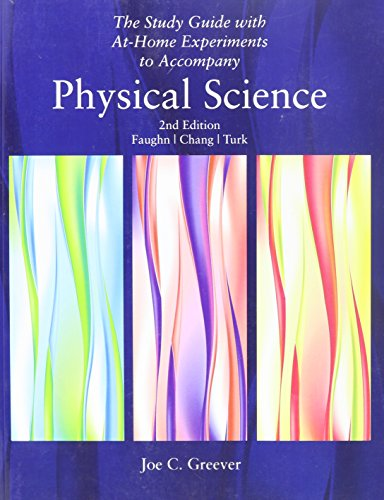 9780030011146: Physical Science: Study Guide With At-home Experiments to Accompany