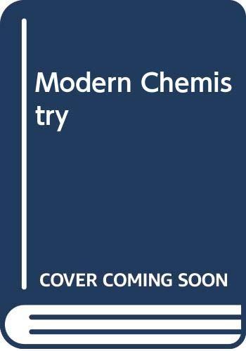 9780030012747: Modern Chemistry
