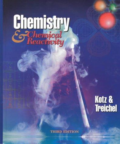 9780030012914: Chemistry and Chemical Reactivity (Saunders Golden Sunburst Series)