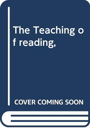 9780030013065: Title: The Teaching of reading