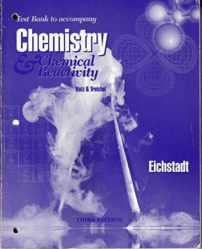 9780030013133: Chemistry & Chemical Reactions (1997 publication)