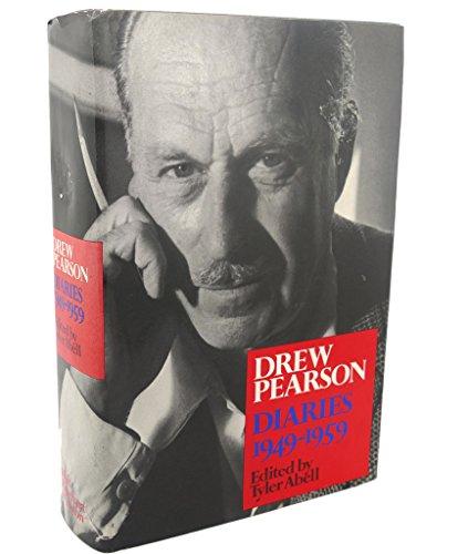 9780030014260: Drew Pearson Diaries, 1949-1959