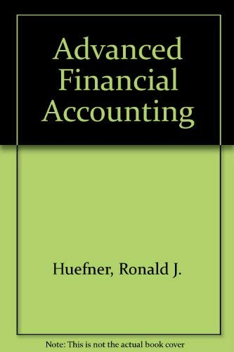 9780030014895: Advanced Financial Accounting