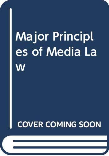 9780030015144: Major Principles of Media Law