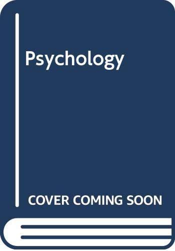 9780030016080: Psychology