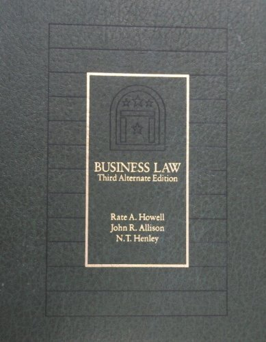 9780030016295: Business law