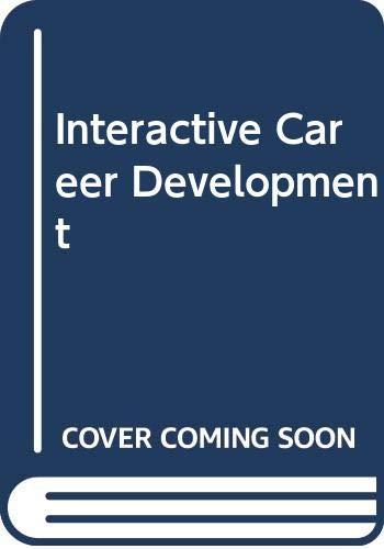9780030016776: Interactive Career Development