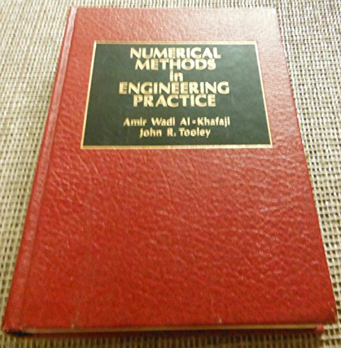 9780030017575: Numerical Methods in Engineering Practice (Hrw Series in Mechanical Engineering)