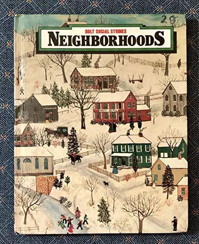9780030017827: Neighborhoods (Holt social studies)