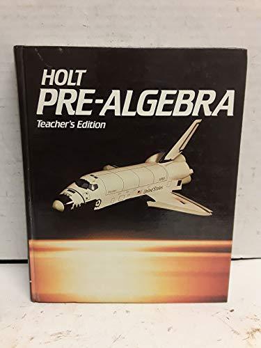 9780030018596: Pre Algebra