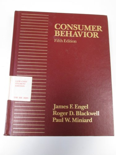 9780030018923: Consumer Behaviour