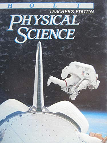 9780030019289: Physical Science - Teacher's Edition