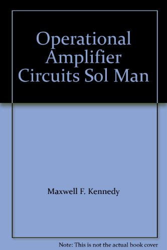 9780030019470: Operational Amplifier Circuits Sol Man